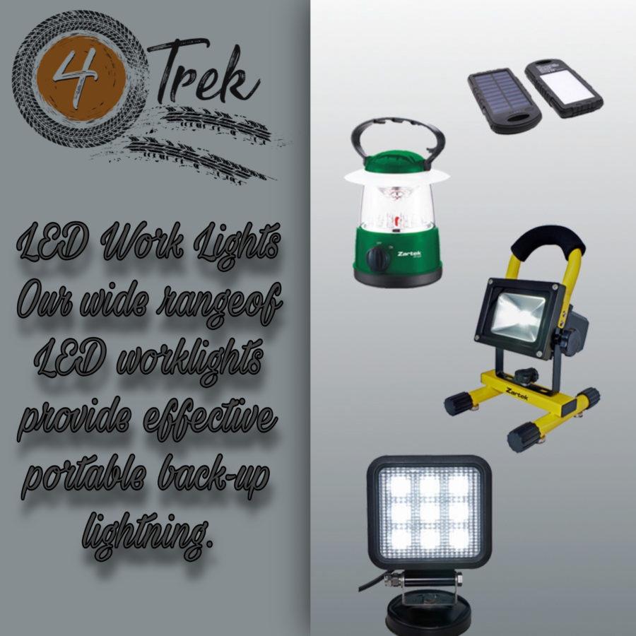 4 Trek Work Lights